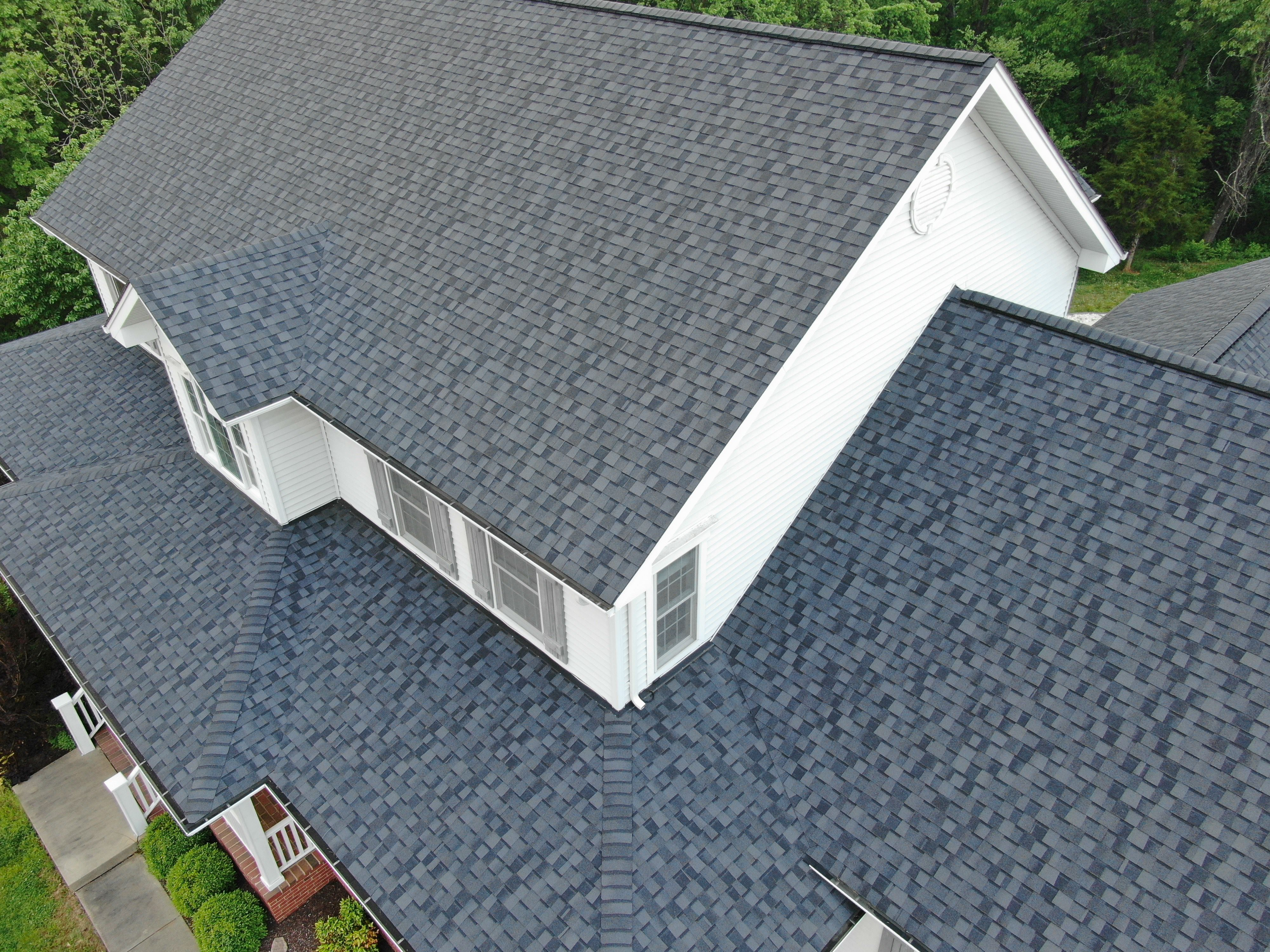 Shingle Roof Installed by West County Roofing